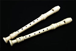 Forms for a recorder